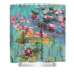 Tribute To Monet II Shower Curtain