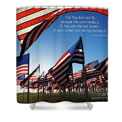 Shower Curtain featuring the photograph Thank You by Peggy Hughes