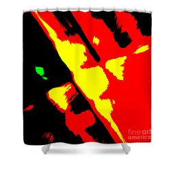 Tricker Shower Curtain by Roger Lighterness