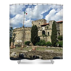 Trieste Castle San Giusto Italy Shower Curtain