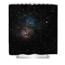Trifid Nebula Shower Curtain