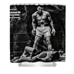 Trinity Boxing Gym Ali Vs Liston  Shower Curtain