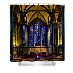 Trinity Chapel Salisbury Cathedral Shower Curtain