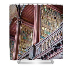 Trinity College 2 Shower Curtain