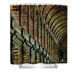 Trinity College Library Shower Curtain