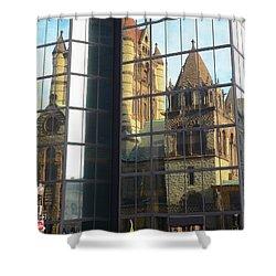 Trinity Reflection Shower Curtain