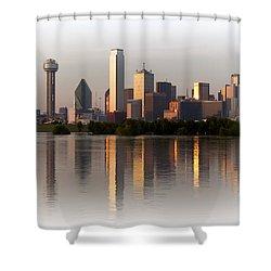 Trinity River Dallas 4 Shower Curtain