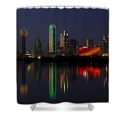 Trinity River Dallas Shower Curtain