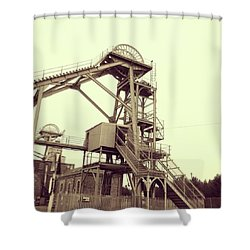 Woodhorn Colliery Museum Shower Curtain
