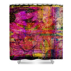 Triple Exposure Shower Curtain