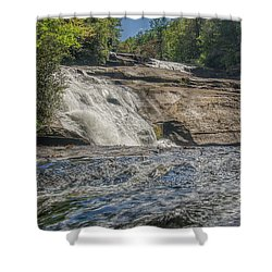 Triple Falls Second Tier Shower Curtain