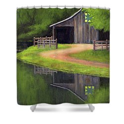 Triple L Ranch  Shower Curtain