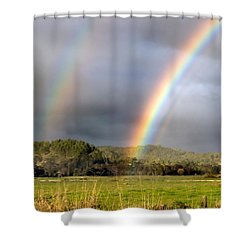 Triple Promise Shower Curtain