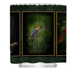 Triptych Shower Curtain