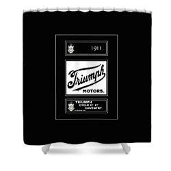 Triumph 1911 Shower Curtain