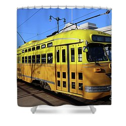 Trolley Number 1052 Shower Curtain