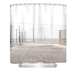 Trona Shower Curtain