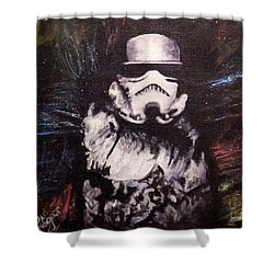 Trooper  Shower Curtain