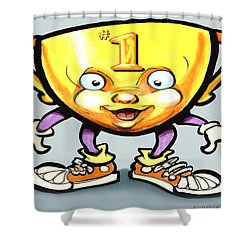 Trophy Shower Curtain by Kevin Middleton