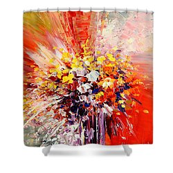 Tropic Intensity Shower Curtain