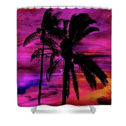 Tropical 1 Shower Curtain