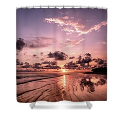 Tropical Beach Shower Curtain