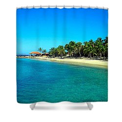 Tropical Bliss Shower Curtain by Betty Buller Whitehead