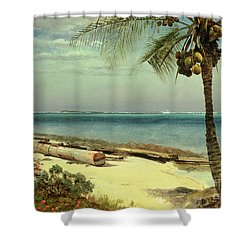 Tropical Coast Shower Curtain