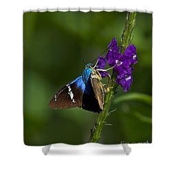 Tropical Colors.. Shower Curtain by Nina Stavlund