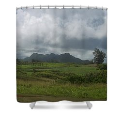 Tropical Countryside Shower Curtain