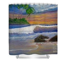 Tropical Dream Shower Curtain