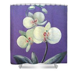 Tropical Elegance Shower Curtain