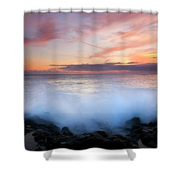 Tropical Explosion Shower Curtain by Mike  Dawson