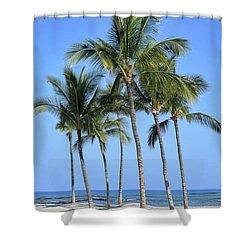 Shower Curtain featuring the photograph Tropical Hawaiian Day by Pamela Walton