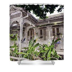 Tropical House Shower Curtain