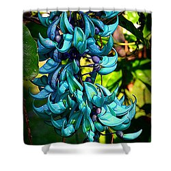 Tropical Jade Shower Curtain