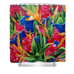 Tropical Shower Curtain by Jamie Frier