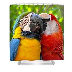 Tropical Kisses Shower Curtain