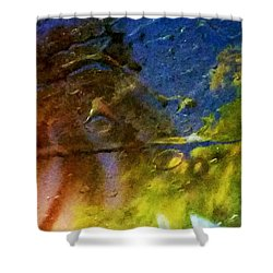 Tropical Low #4 Shower Curtain