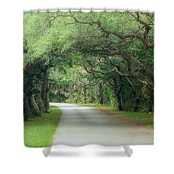 Tropical Magic Forest Shower Curtain