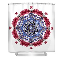 Tropical Mandala By Kaye Menner Shower Curtain