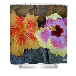 Tropical Pair Shower Curtain