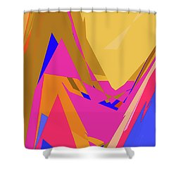 Tropical Ravine Shower Curtain