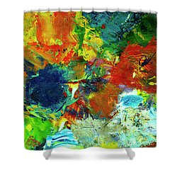 Tropical Reef #308 Shower Curtain by Donald k Hall