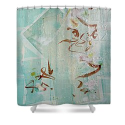 Tropical Sea  Remembering Thailand  Shower Curtain