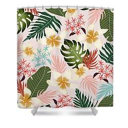 Tropical Soul Shower Curtain