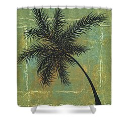 Tropical Splash 4 By Madart Shower Curtain by Megan Duncanson