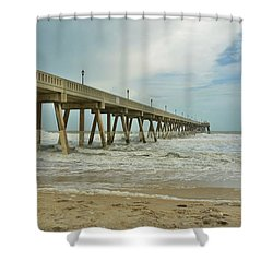 Tropical Storm Ana 1 Shower Curtain by Bob Sample