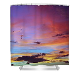 Tropical North Queensland Sunset Splendor  Shower Curtain