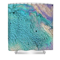 Tropical Thought Shower Curtain